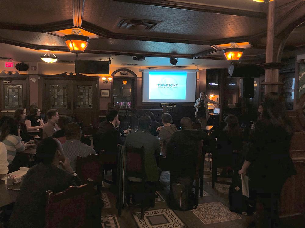 Ottawa S2BN Chapter: Turnstone Biologics Inc. Event