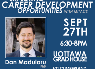Post Event Blog: Exploring Career Development Opportunities with Mitacs