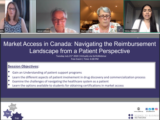 S2BN Waterloo: Market Access in Canada: Navigating the Reimbursement Landscape From a Patient Perspe