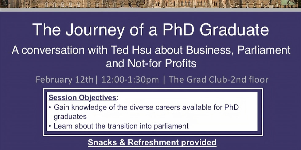 (KINGSTON CHAPTER)  The Journey of a PhD Graduate - Rescheduled
