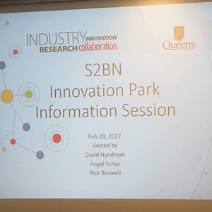 S2BN Kingston: QueensU Innovation Park Tour
