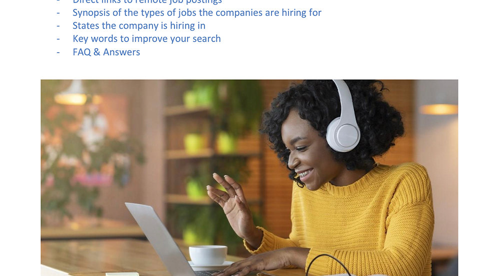 50 Companies Hiring Work from Home Now