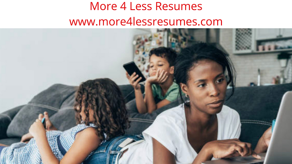 Stay at Home Mom Resume Sample + Tips