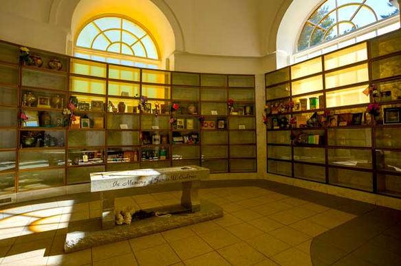 Indoor Niches at Riverside Mausoleum