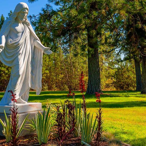 Good Shephard Statue