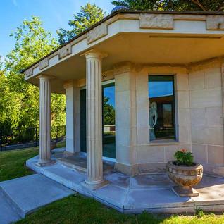 A Private Mausoleum at Fairmount Memoria