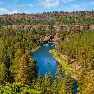 Fairmount Overlooking Spokane River