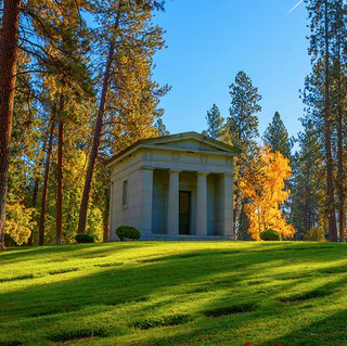 Private Mausoleum at Greenwood Memorial