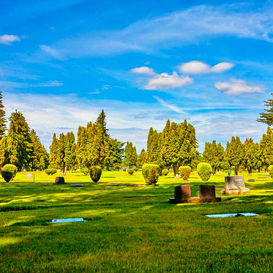 Pines Cemetery Grounds