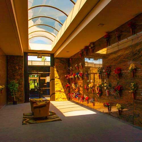 The Indoor Atrium Crypts at Pines Mausol