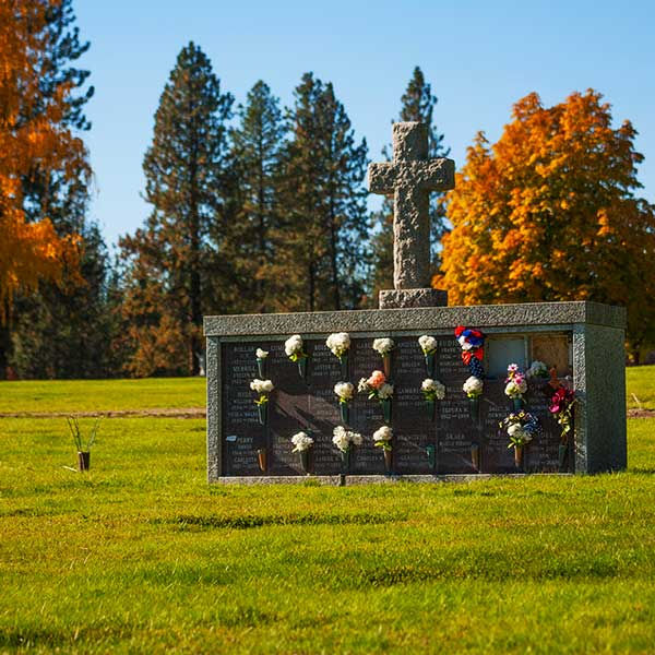 Outdoor Cremation Niche (Columbaria)