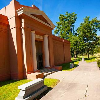 Peace Abbey Mausoleum