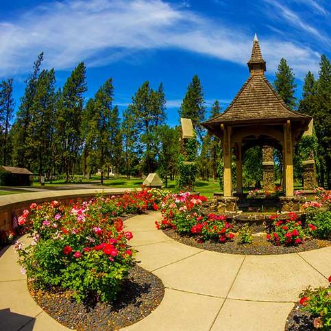 The Rose Circle at Riverside Memorial Park