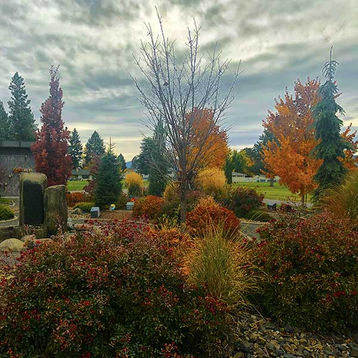 The Cremation Garden during Fall