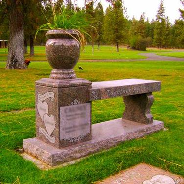 Cremation Bench