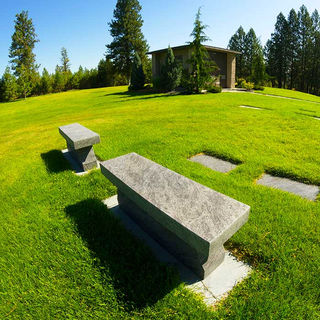 Cremation Bench Greenwood Upper Terrace
