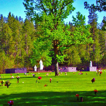 Apostle's Court at Spokane Memorial Gard
