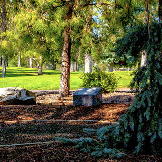 Peaceful Pines Cremation Path