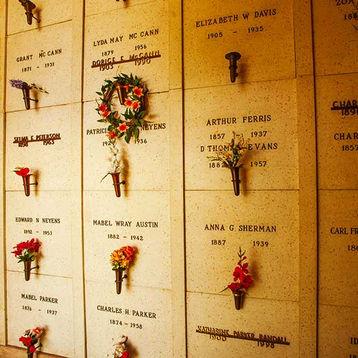 Indoor Crypts at Riverside Mausoleum Off