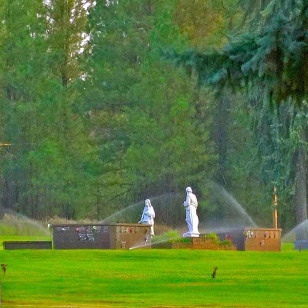 Cremation Niche at Spokane Memorial Gardens