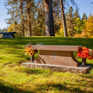 Cremation Bench