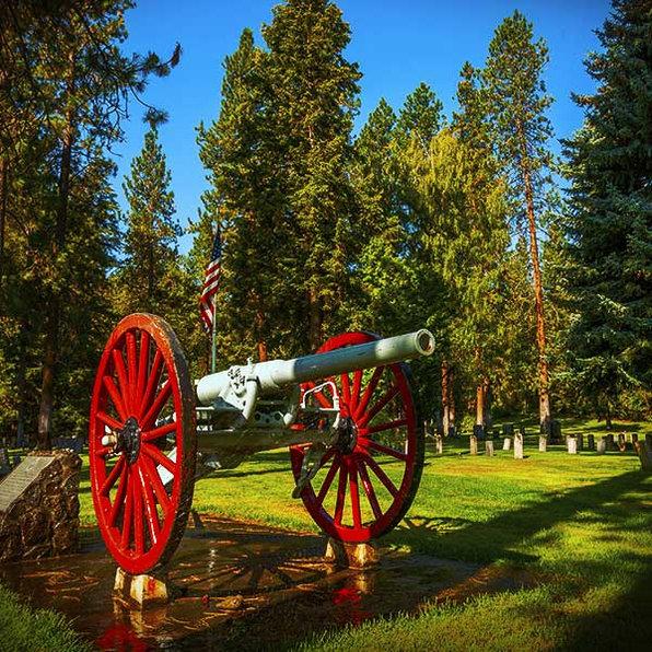 Spanish-American War Memorial Cannon