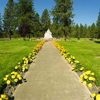 Pathway to Children's Memorial