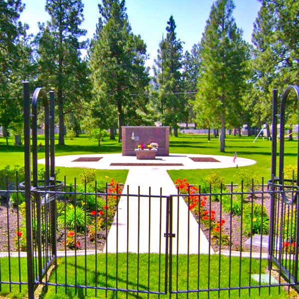 Woodlawn Cemetery Central Courtyard