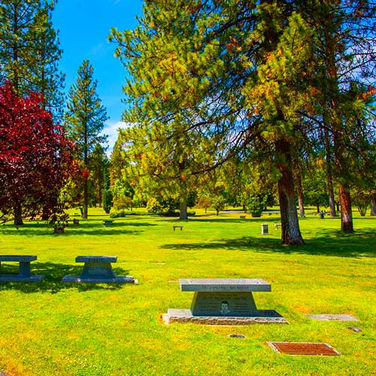 Cremation Benches at Riverside