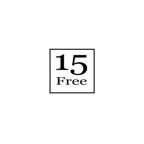 15 Free