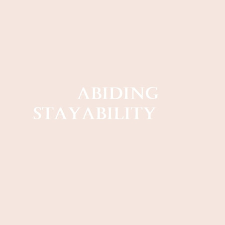 ABIDING STAYABILITY