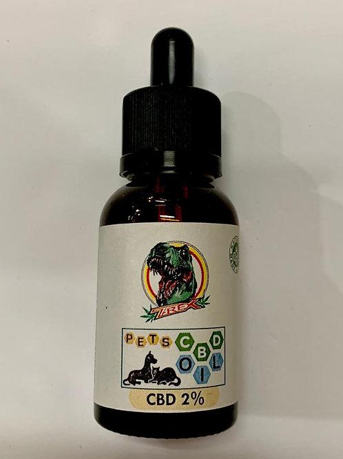 OLIO PET DI SALMONE CBD 2% - boccetta da 30 ml