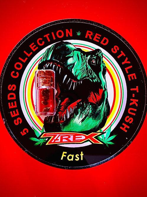 RED STYLE T- KUSH - confezione da 5 semi da collezione