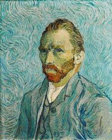 Vincent Van Gogh (1889) - Olio su tela di canapa cm 65 x 54