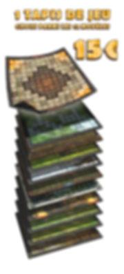 Tapis de jeu Krosmaster par Wogamat - Pl