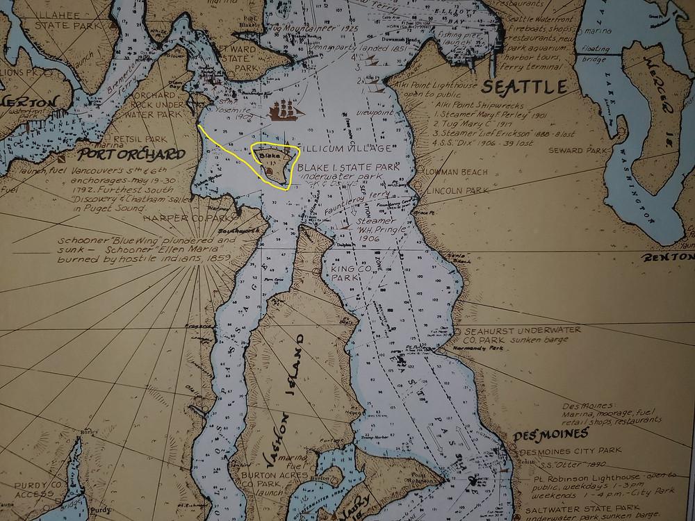 Chart of Puget Sound