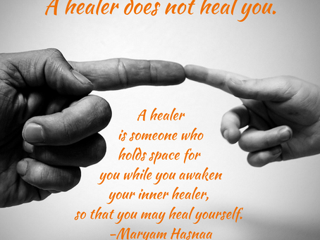 """""""A healer does not heal you"""""""