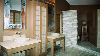 Asian-influence Bathroom