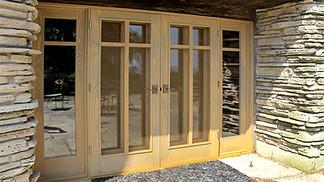 Prairie-style Patio Doors