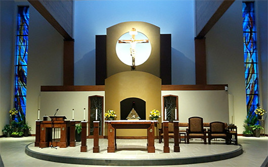 St Thomas Moore Church Furniture