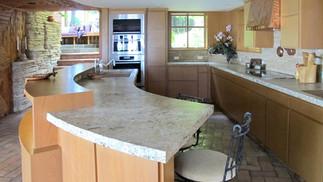 Prairie-style Kitchen