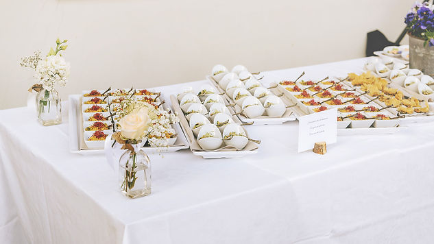 Finger food by Italian Alps Wedding