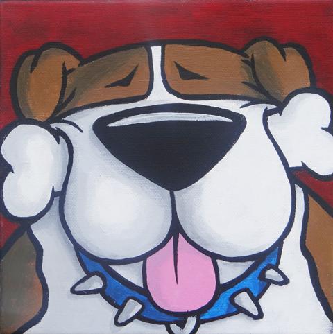BONE HEAD Bulldog sm