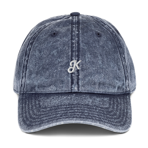 "Koncept ""K"" Logo Washed Vintage Denim Hat"