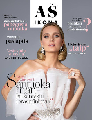 ASTA VALENTAITE for AS IKONA WEDDING COVER 2019 (Tap to view more)