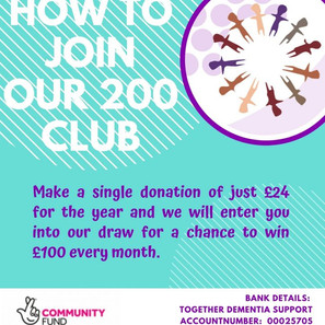 200 Lottery Club – Join Now to win up to £100!
