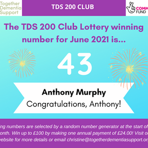 And the 200 Club winner for June is....