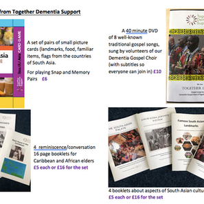Resources for BAME people living with dementia