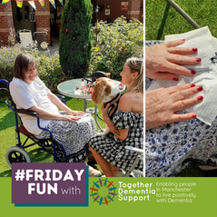 #FridayFun 15 July 2021 - manicures and four-legged friends!