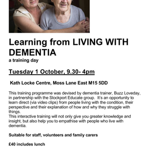 Learning from LIVING WITH DEMENTIA